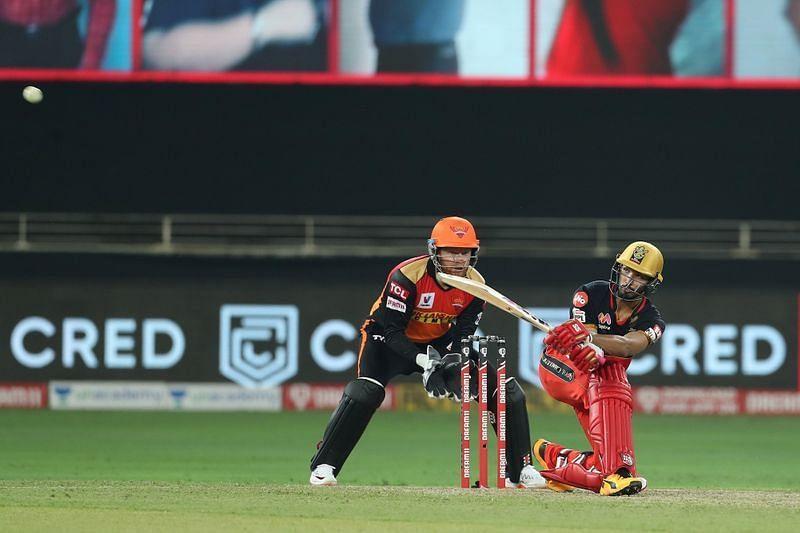 Devdutt Padikkal scored 56 off 42 balls on his IPL debut last night (Image Credits: Asianet Newsable)