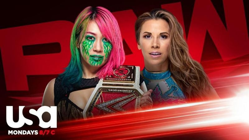 """Mickie James will challenge Asuka on """"In Your Face"""" RAW tonight"""