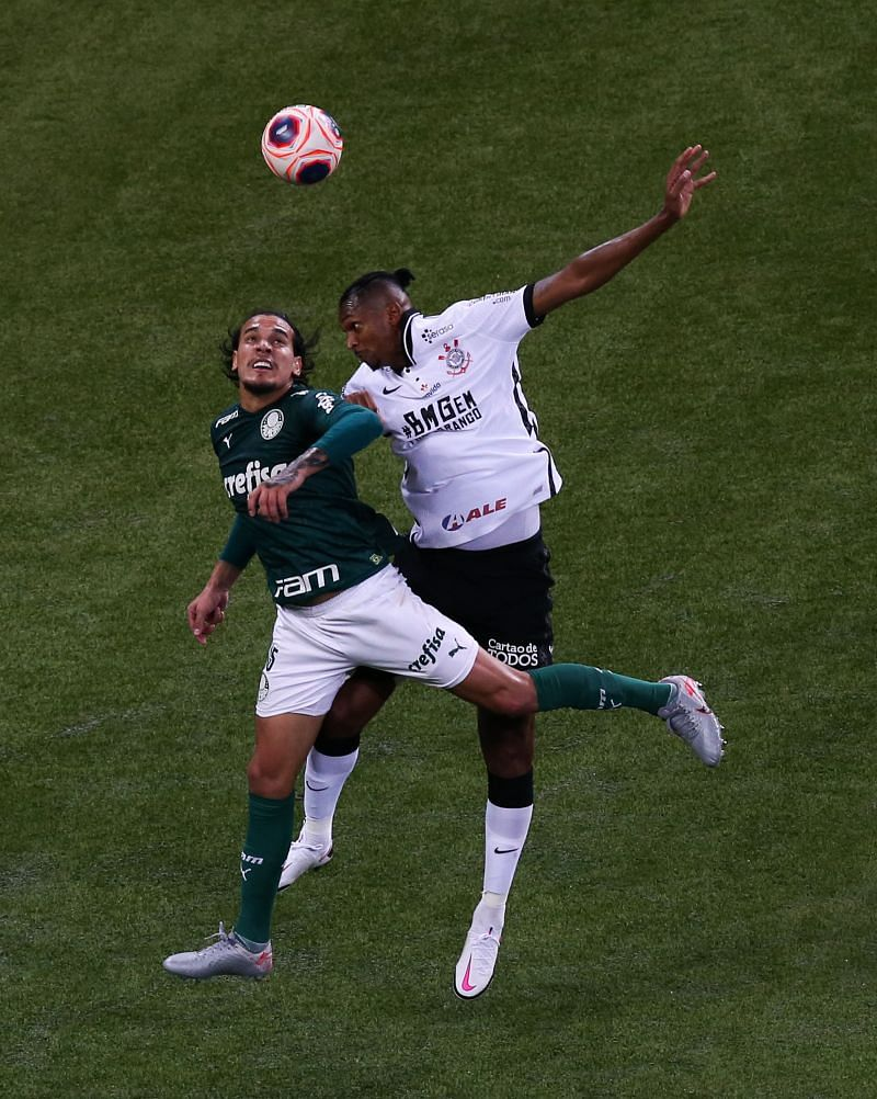 Palmeiras and Corinthians play behind closed doors the final match of the Sao Paulo State Championship