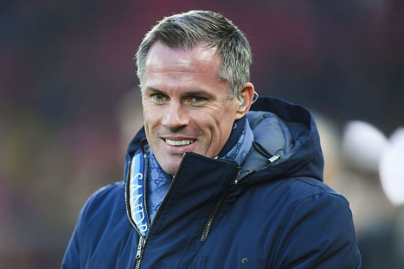 Sky Sports pundit Jamie Carragher