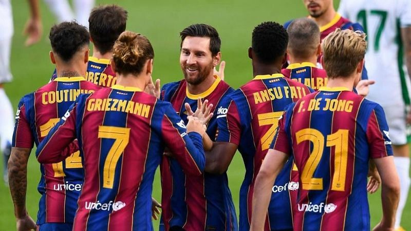 Barcelona are the richest football club in the world.