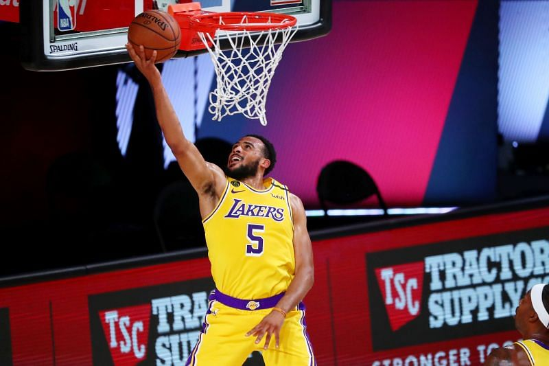 The youngest LA Lakers player is Talen-Horton Tucker