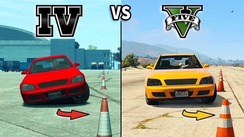 Comparing GTA 4 and GTA 5 (Image Credits: Vucko 100, YouTube)