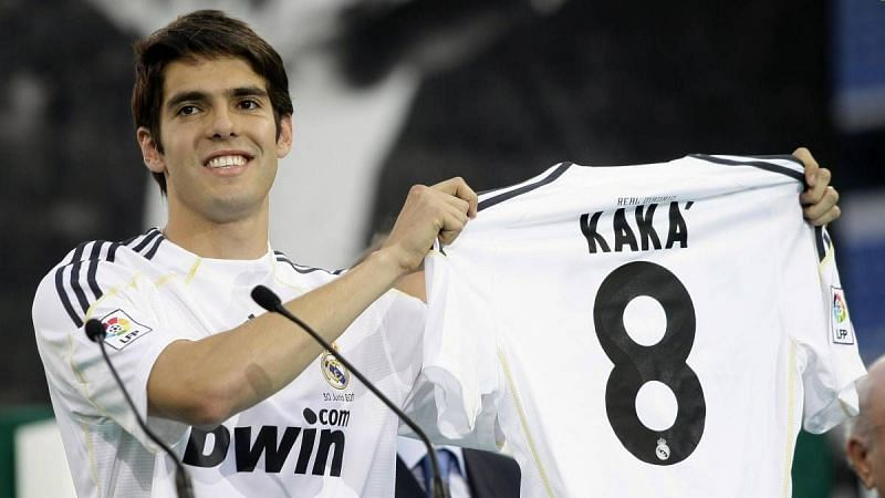 Kaka is one of several big-name players whose careers took a plunge after going to the Santiago Bernabeu.