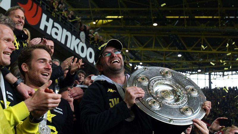 Jurgen Klopp at Borussia Dortmund