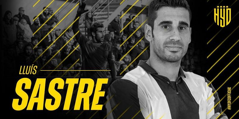 Lluis Sastre has joined Hyderabad FC (Photo: Twitter)