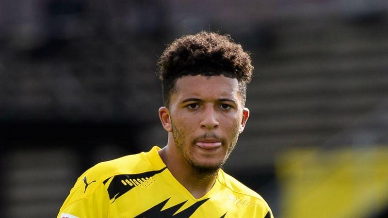 Borussia Dortmund attacker Jadon Sancho