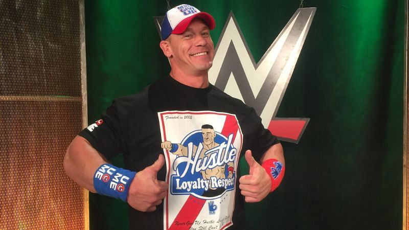 John Cena pitched a lot of ideas in WWE