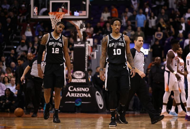 NBA Trade Analysis: The Spurs could move both LaMarcus Aldridge and DeMar DeRozan and start rebuilding for the future