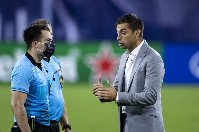 Inter Miami head coach Diego Alonso will look for his team to bounce back from the loss to Nashville SC