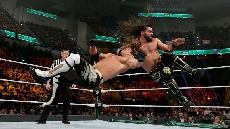 Seth Rollins and AJ Styles wage war against each other