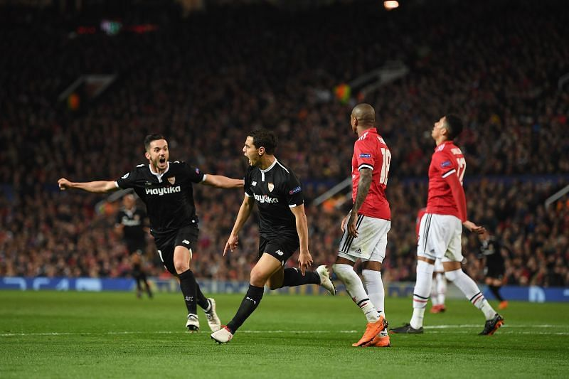 Sevilla will be wanting more Champions League nights like this one against United a few years ago