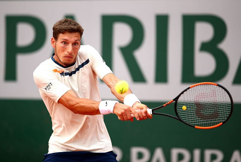 Pablo Carreno Busta at the 2019 French Open