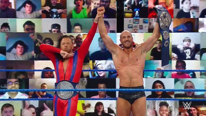Cesaro picked up the win on SmackDown