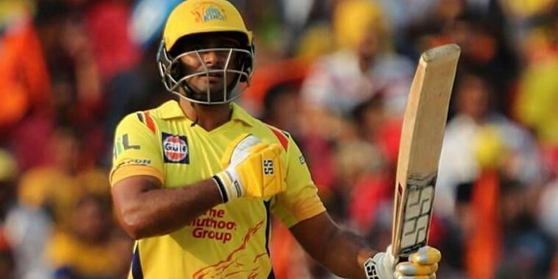 Ambati Rayudu played a match-winning knock for CSK against MI in the opening match of IPL 2020