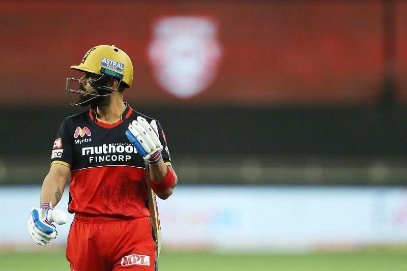 Virat Kohli saw his team fall apart in the chase.
