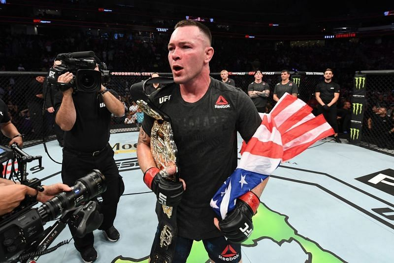 Colby Covington is a man who loves the spotlight and the cameras on himself