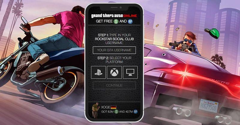 Using money generators can often get accounts banned in GTA Online.