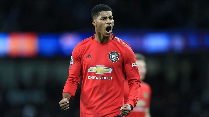 I have benched Marcus Rashford in response to United