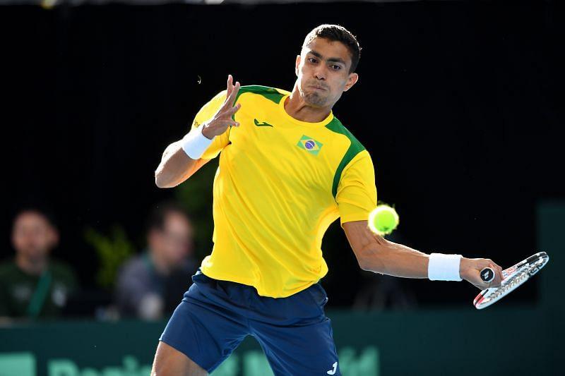 Thiago Monteiro has a decent record on clay.
