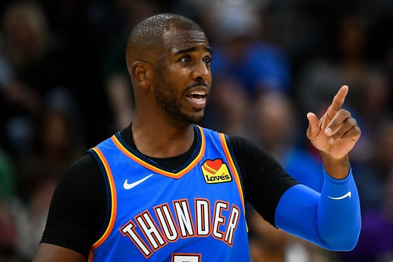 Chris Paul could potentially be traded by the OKC Thunder this offseason