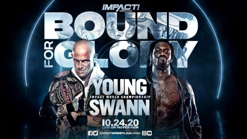 Eric Young will defend the IMPACT World Championship against Rich Swann at Bound For Glory