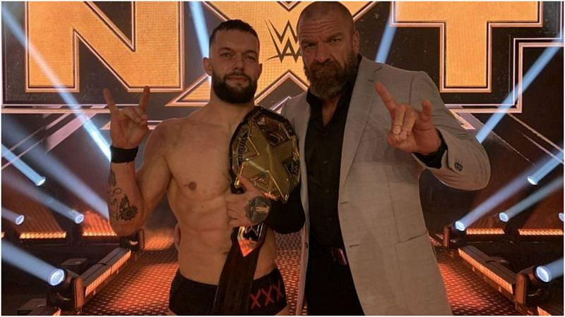 Triple H's heartfelt message to new NXT Champion Finn Balor