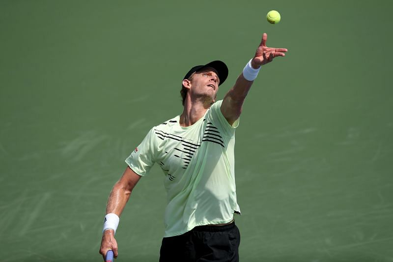 Kevin Anderson at the 2020 Western & Southern Open