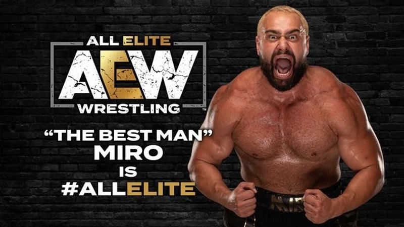 Miro is in the house (Pic Source: AEW)