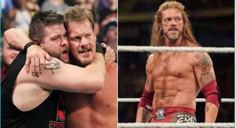 Chris Jericho is still in contact with KO and Edge