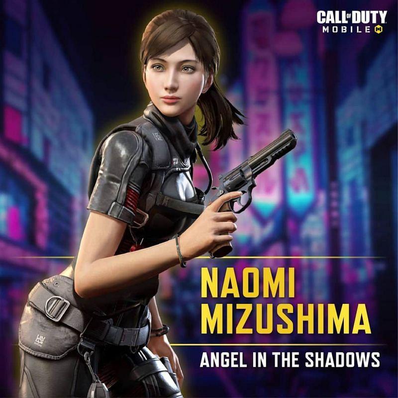 Naomi Mizushima (Image Credits: COD Mobile)