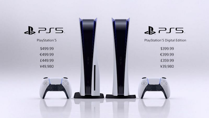 Sony have announced the release date and pricing information for the PlayStation 5 (Image Credit: Sony)