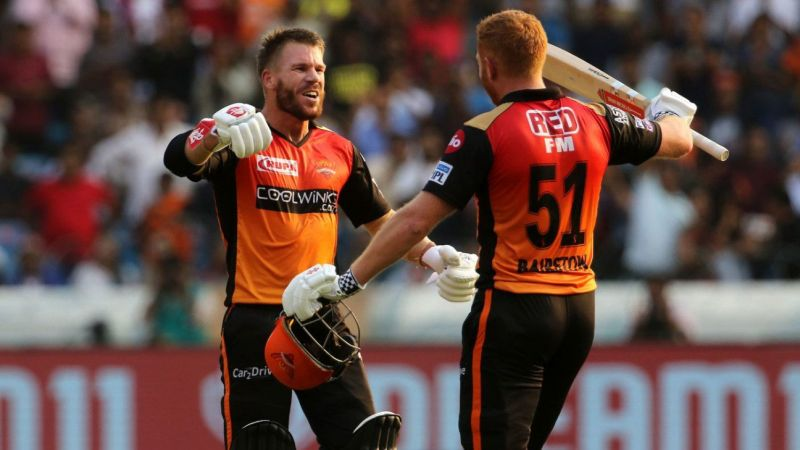 Warner and Bairstow set IPL 2019 on fire