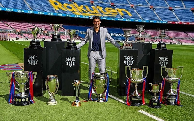 Suarez departed Barcelona as a legend and he is still a quality striker