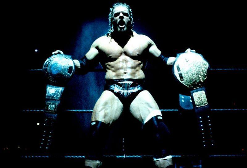 HHH took on Chris Jericho in a forgotten HIAC match in 2002