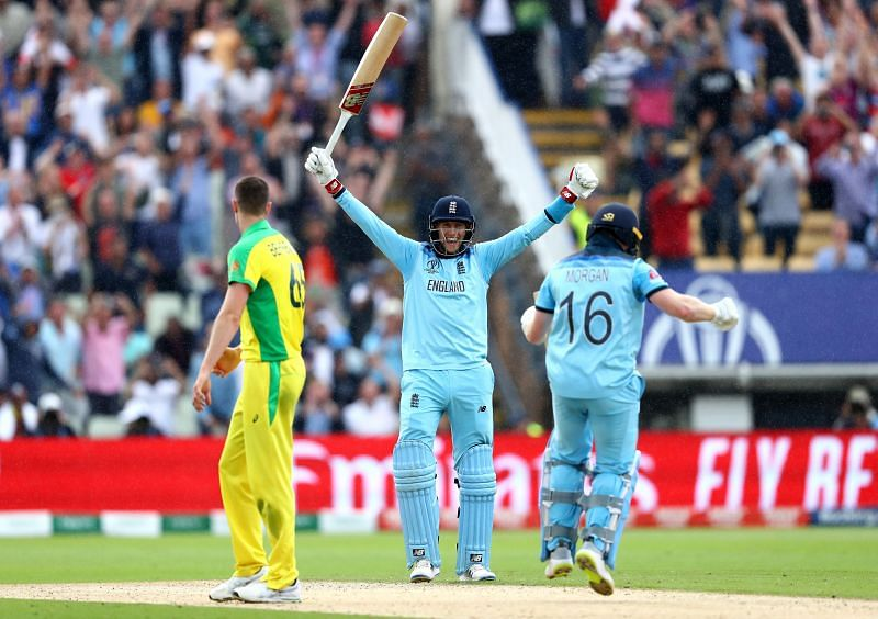 England beat Australia in the 2019 World Cup semifinals