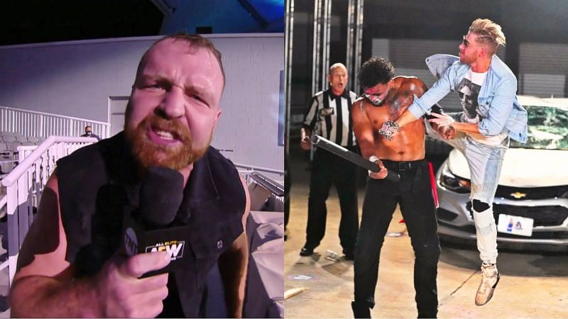 AEW Dynamite concluded with a Parking Lot Fight this week