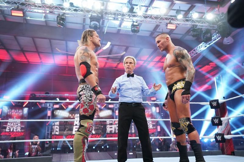 Edge and Randy Orton worked a classic at Backlash.