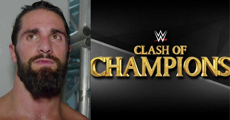 Seth Rollins, Clash of Champions logo.