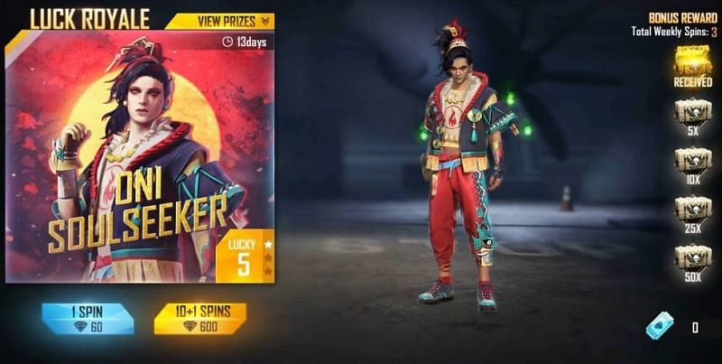 Yokai Soul Seeker in Free Fire: All you need to know