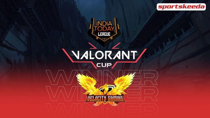 Velocity Gaming win the India Today League Valorant Cup.