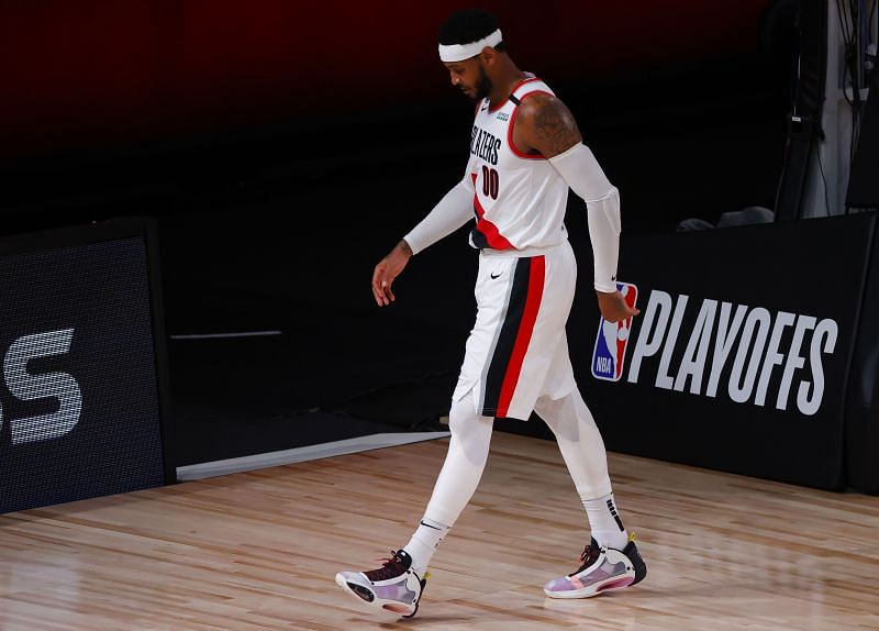 Aged 36, Carmelo Anthony is at the twilight end of his career