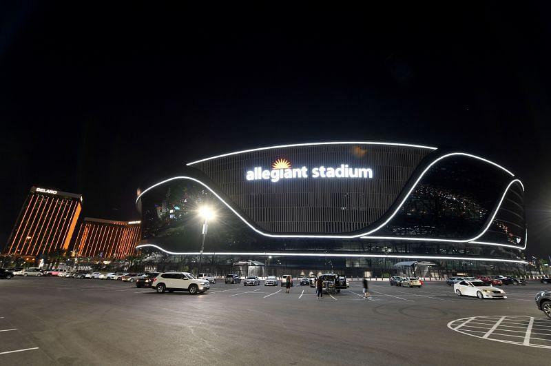 Allegiant Stadium Prepares To Host First Las Vegas Raiders Game