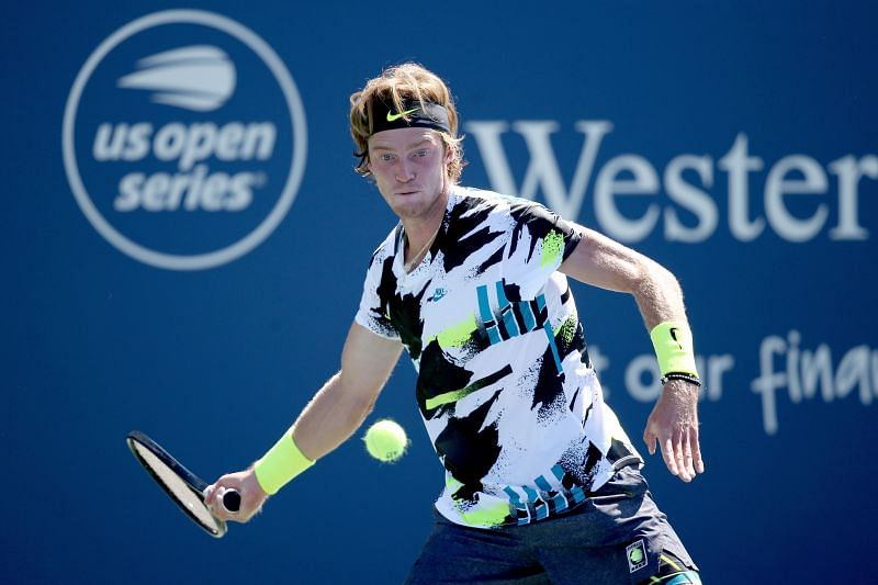 Andrey Rublev at the Western & Southern Open 2020