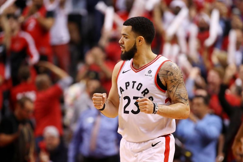 Fred VanVleet was finally reunited with his family in the NBA bubble