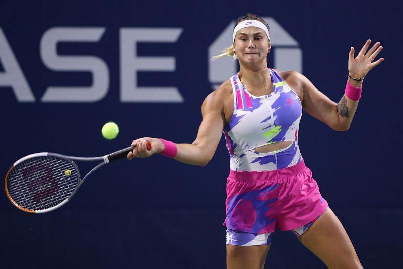 Aryna Sabalenka at the 2020 US Open