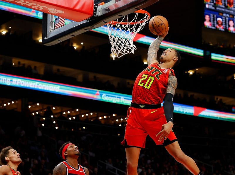 Given the choice, John Collins should leave Atlanta and join the Golden State Warrriors.