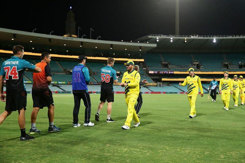 ऑस्ट्रेलिया  vs न्यूजीलैंड