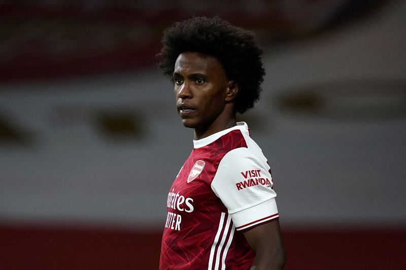 Willian was close to being anonymous on the field for Arsenal