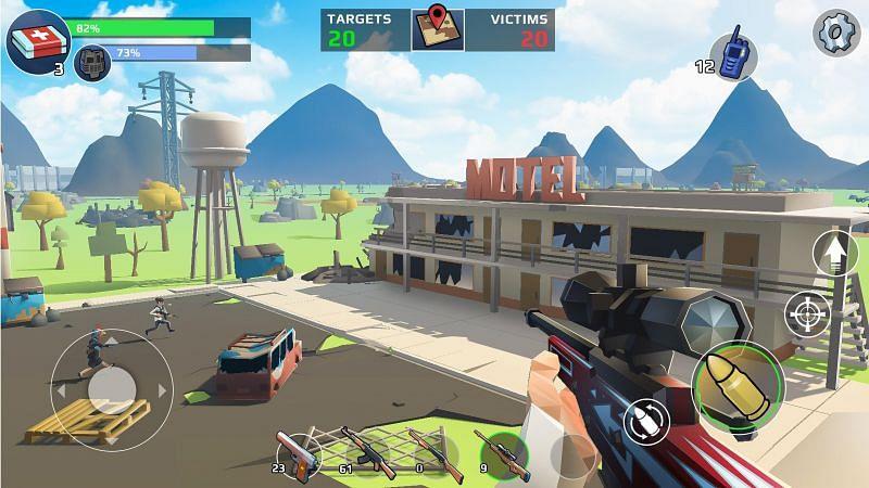 Battle Royale: FPS Shooter (Image credits: APKPure.com)